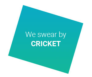 we swear by cricket