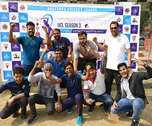 cricket celebration in hrone ground