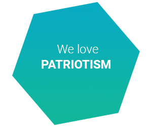 we love patriotism