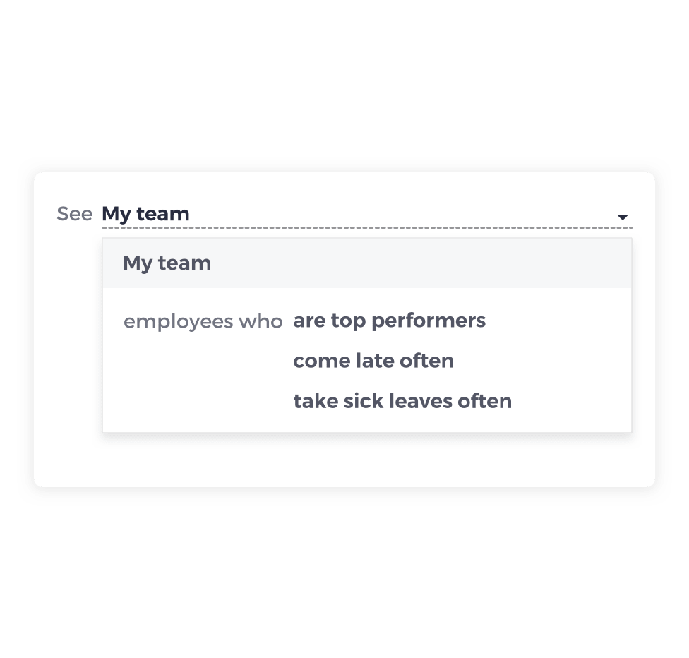 Solution for managers