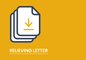 RELIEVING-LETTER